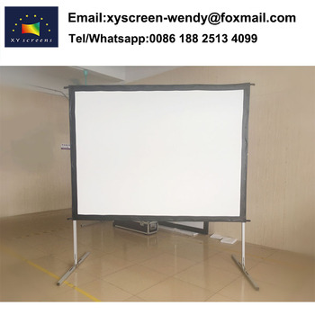 "XY Screen 120"",16:9 fast folding Portable projector screen lightweight for outdoor"