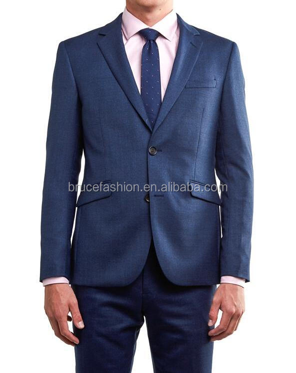 Latest fashion men suits and blazers Europe men's clothing Cashmere Wool Suit