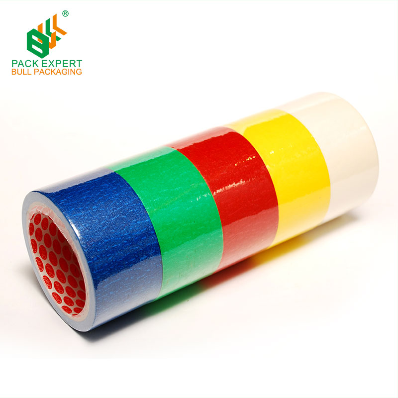 Hot sale Masking/crepe tape with no residue left for spraying, painting and sand blasting