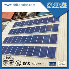 Tin roof solar module solar mounting system