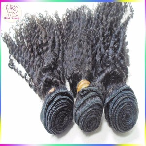 Wholesale Business Hair 10A Consistent Filipino afro Curly Human Hair Wefts Delicate Package 24 hours Service