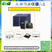 ESG 1KW 2KW pv solar mounting system / 3KW 5KW 10KW ground mounting solar panel mounting / Solar Panel Price Competitive