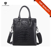 2016 Fashion Branded Genuine Crocodile Leather Handbag/Men Leather Bag