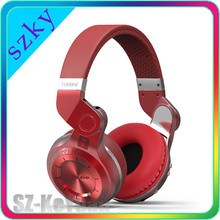 Fashion T2 Wireless Bluetooth 4.1 Stereo Headphone Noise canceling Built-in Microphone Bluedio Turbine