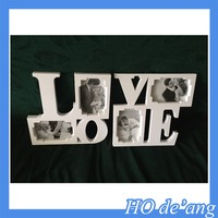 love photo frame /beautiful printing paper picture frame /custom paper photo frame