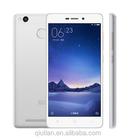 Original mi Xiaomi Redmi 3S pro 5.0' Snapdragon430 4100mAh Fingerprint Metal Body 3+32GB xiomi redmi prime 3s mobile phone tmall