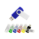 Ekinge OEM USB 2.0 cheap swivel Twist usb flash drive colorful metal USB stick 1gb 2gb 4gb 8gb 16gb 32gb high speed USB3.0