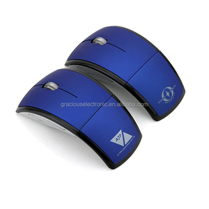 Wireless mouse for office home use 2.4Ghz optical folded mouse