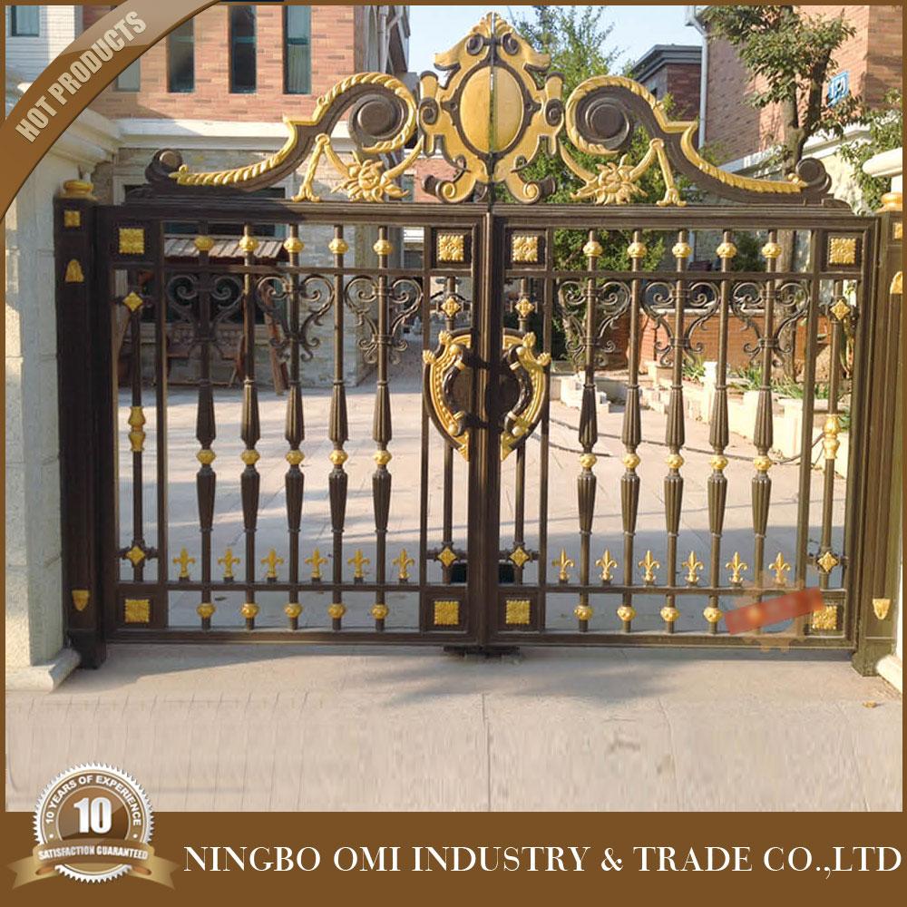 Luxury Aluminum House Main Gate Designs/the Rotproof Aluminum ...