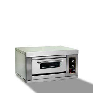 single deck mini gas fired pizza oven
