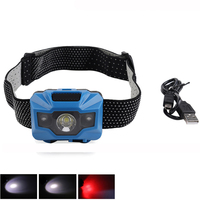 2018 USB Rechargeable LED Headlamp 4 Modes High Power led headlight