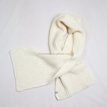 high quality Wholesale Custom 100% Acrylic Machine Knitted Winter Warm Scarf