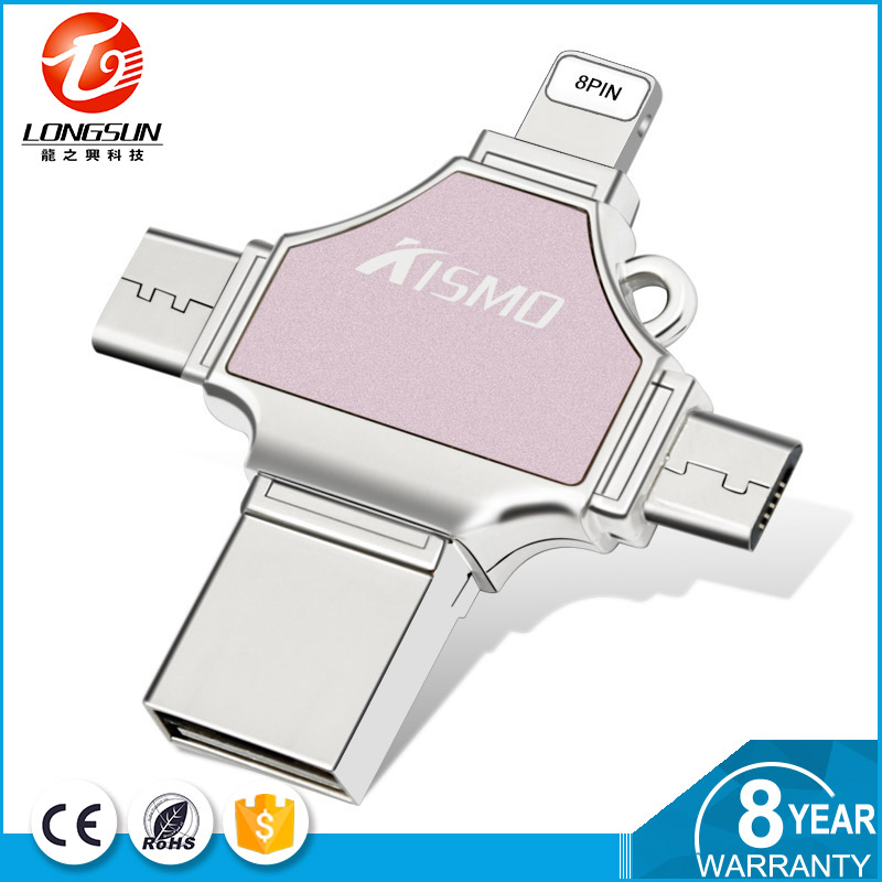 Hot selling usb pen drive wholesale customized logo 256gb pendrive with type-c encryption usb <strong>flash</strong>