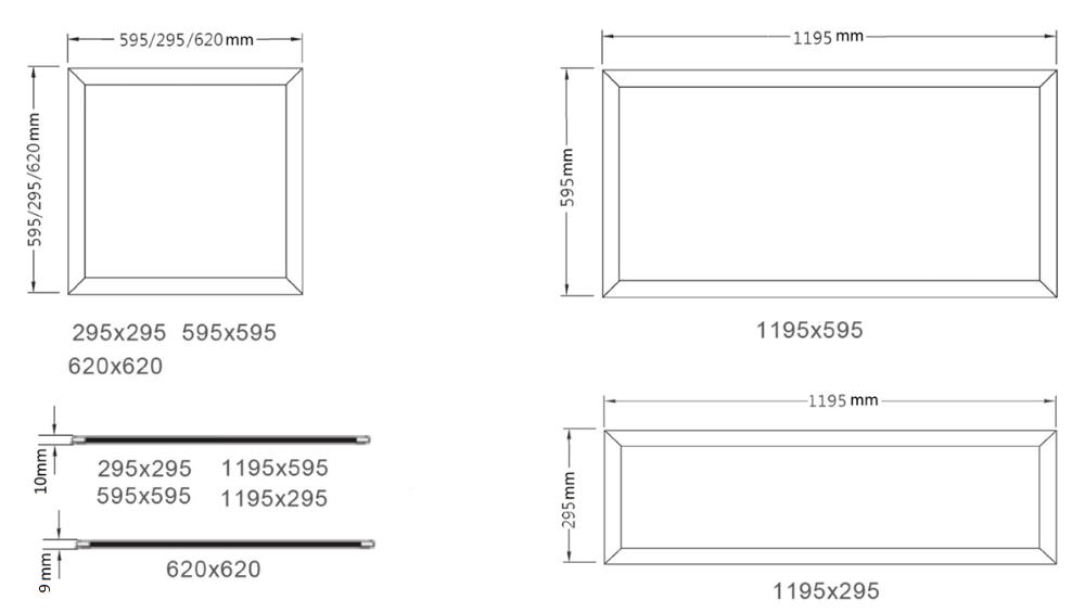 Dlc 4 2 Etl Ul Certified 130lm  W 2 2 40w Led Panel Light