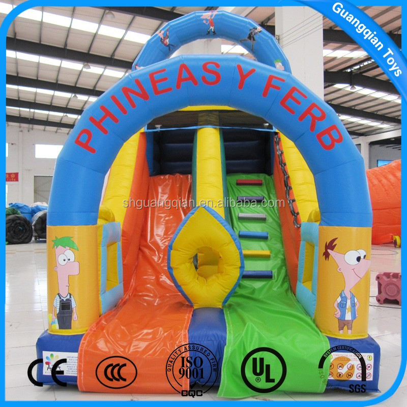 Competitive Price Cheap Large Inflatable Cartoon Slide For Kids