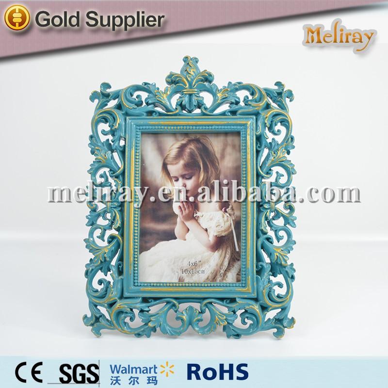 4x6 Vidrio Marco De Fotos Resina Coral - Buy Product on Alibaba.com