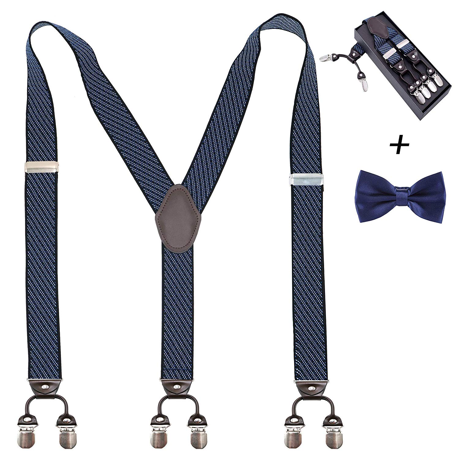 Khaki StellShine Mens Y-Back Tuxedo Shoulder Suspenders with Adjustable /& Elastic Straps StellShine Men Suspenders with Heavy Duty Clips Big and Tall for Suits//Pants Formal Events Wedding Mens Suspenders Heavy Duty Clips