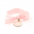 Bulk wholesale baby pink elastic hair ties for imported