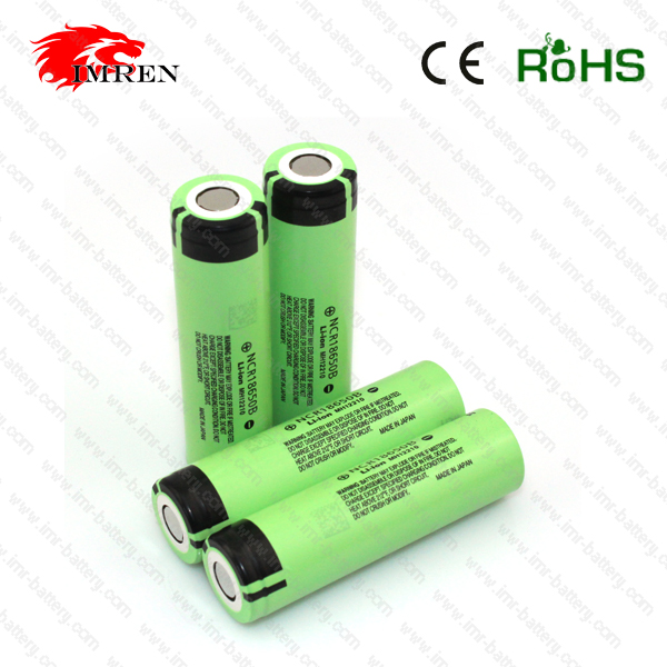 NCR18650B 3400mah battery ncr18650b 18650 3.7v Rechargeable laptop bateries