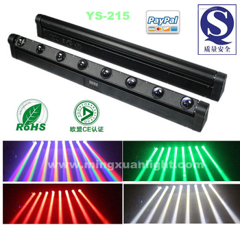 Hot new products for 2014 rgbw led sweeper 8x10w moving led bar beam