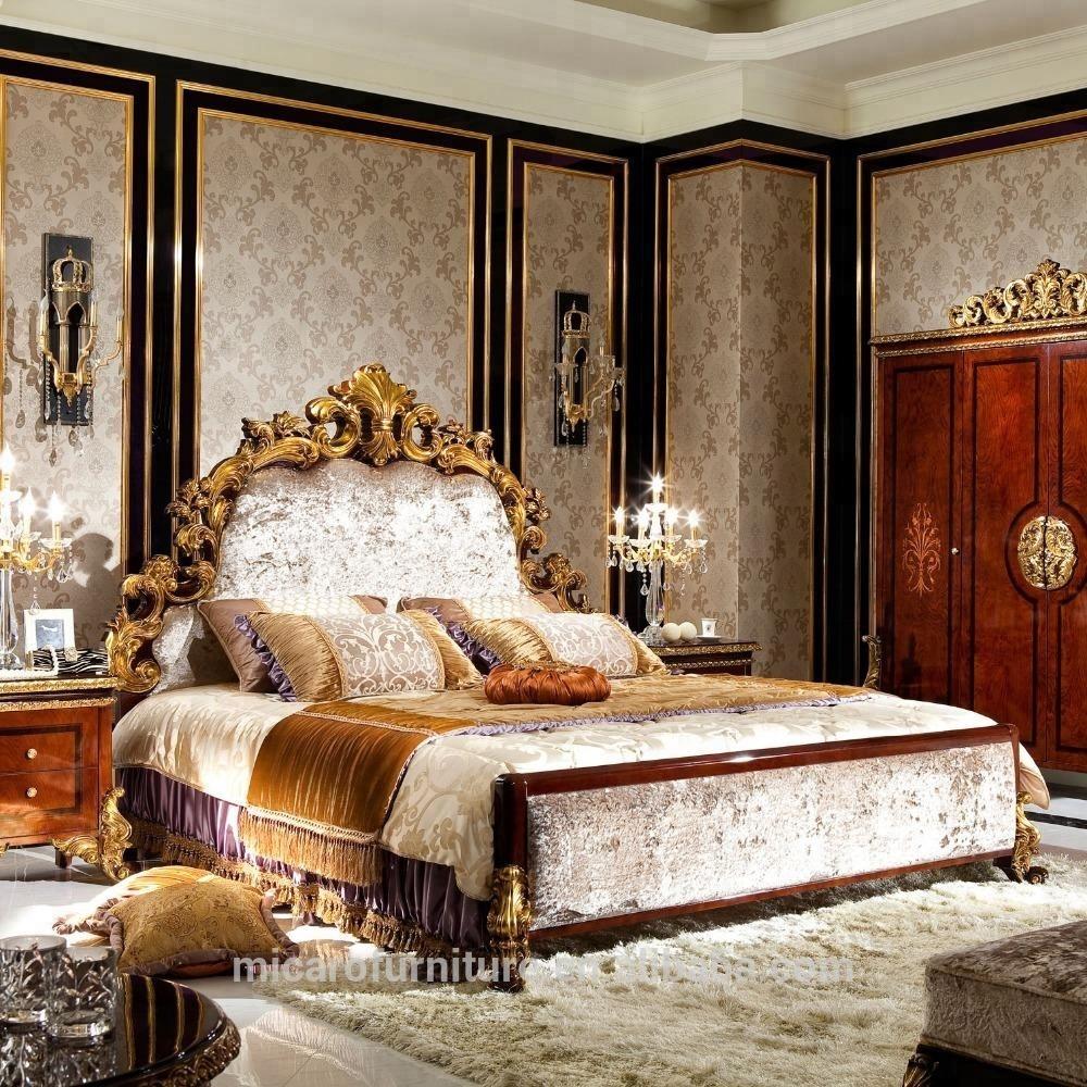 Luxury Antique Bedroom Furniture Wooden Bed With Dressing Table - Buy  Wooden Bed,Luxury Wooden Bed,Wooden Bed With Dressing Table Product on ...