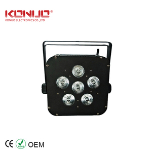 Mini 6 * 8W RGBW 4 in 1 Wireless LED Par Light Wash effect stage lighting