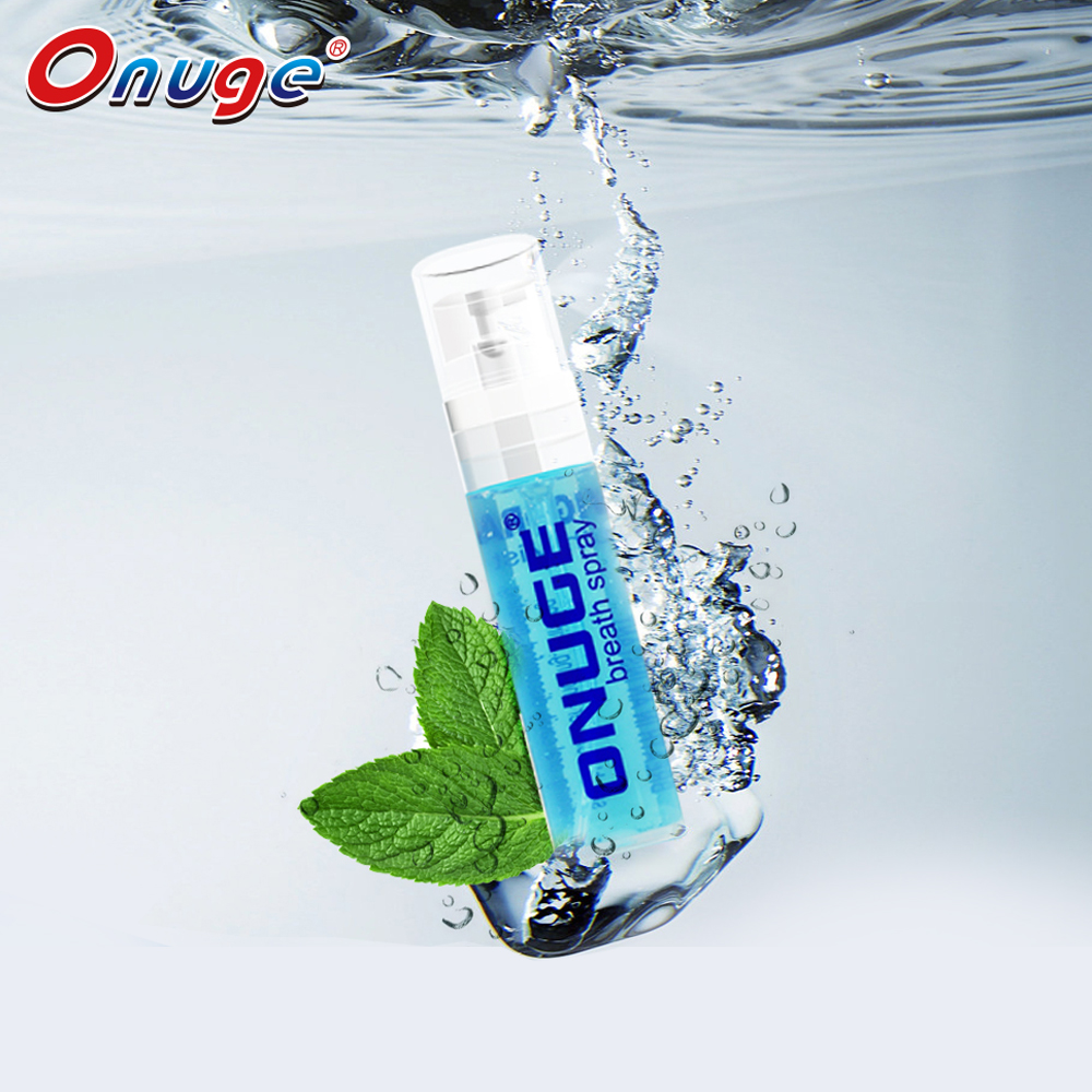 Onuge merk ultra mint mond spray breath spray mint spuiten