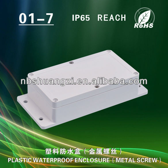 High quality IP65 handheld plastic enclosure