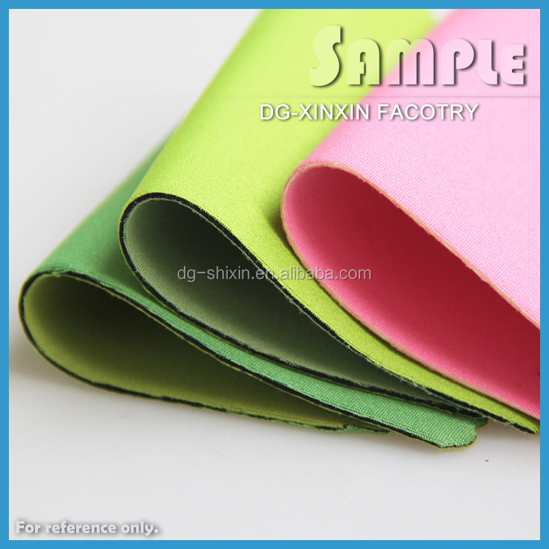 SBR neoprene rubber sheet with polyester fabric for wetsuits