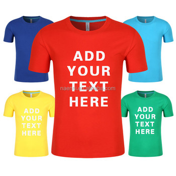 1pcs order accept wholesale high quality 100 cotton 180g for Order custom t shirts in bulk