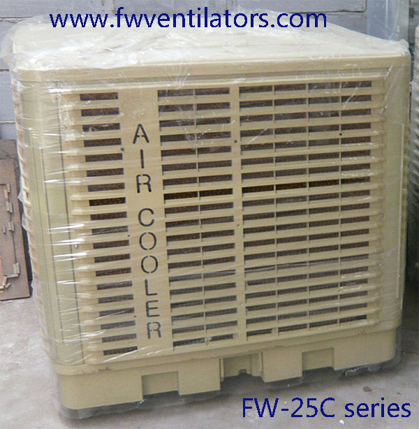 Airflow 25000 m3/h 2.2 kw evaporative cooling fan