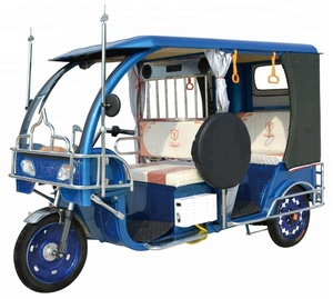 Battery Operated Powered Adult Electric Auto Passenger Tricycle Rickshaw Low Price In Bangladesh