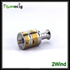 Focusecig technology newest design 2wind RDA stainless steel double airflow control ecigator ecig