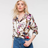 or20777a 2019 Europe America women cloth spring new style aliexpress wish hot sale long sleeve vintage print blouse