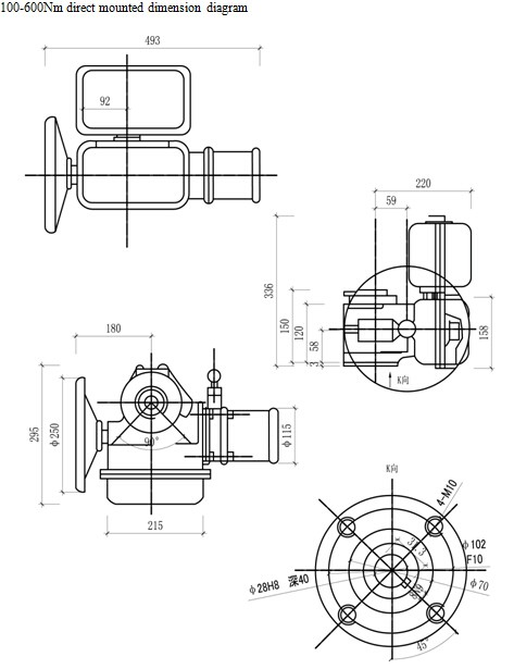 As 25k30h 4 20ma Modulating Motorized Damper Actuator