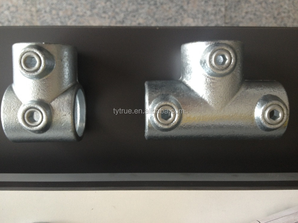 Short and Long Tee Joints Key Clamp Price Pipe Clamp Galvanized