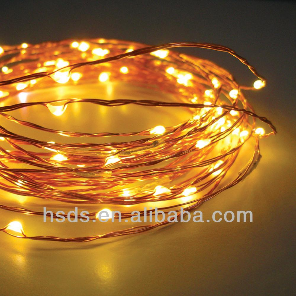 Invisible Led Decorative Indoor Mini Copper Wire String Lights ...