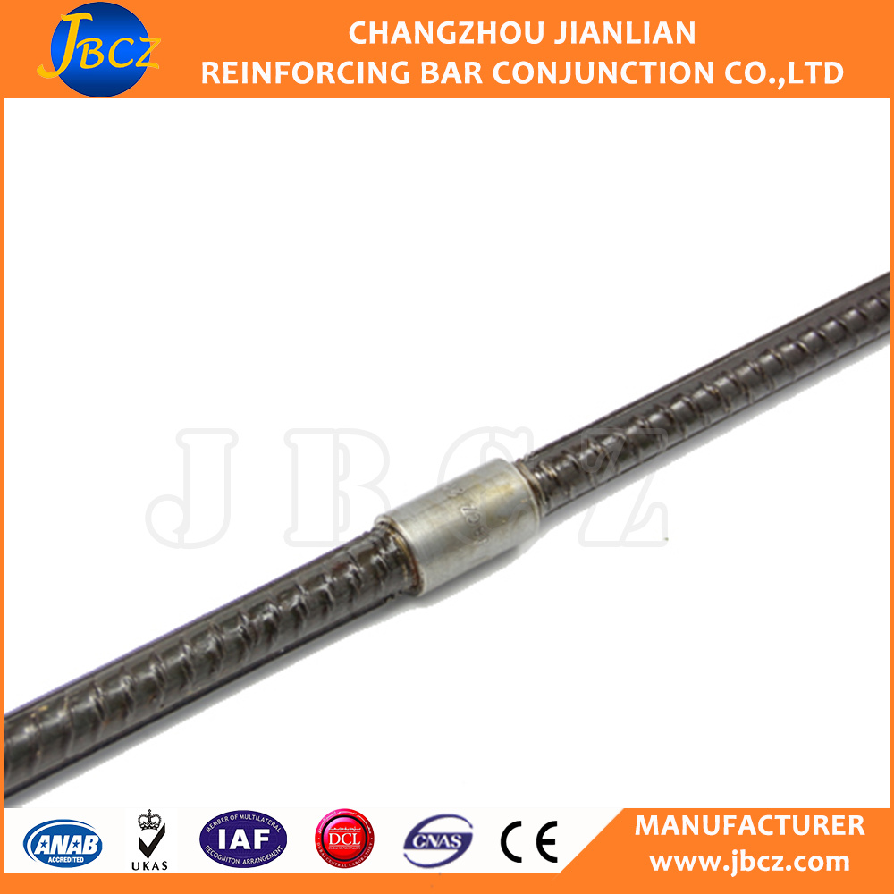 12-40mm 45# carbon structure mechanical splicing steel parallel thread rebar mechanical coupler