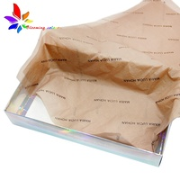 Fashionable custom printed tissue wrapping paper for trending products packaging clothes wrapping tissue paper