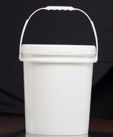 8/10/11 liter litre good price paint pail with lid custom printed
