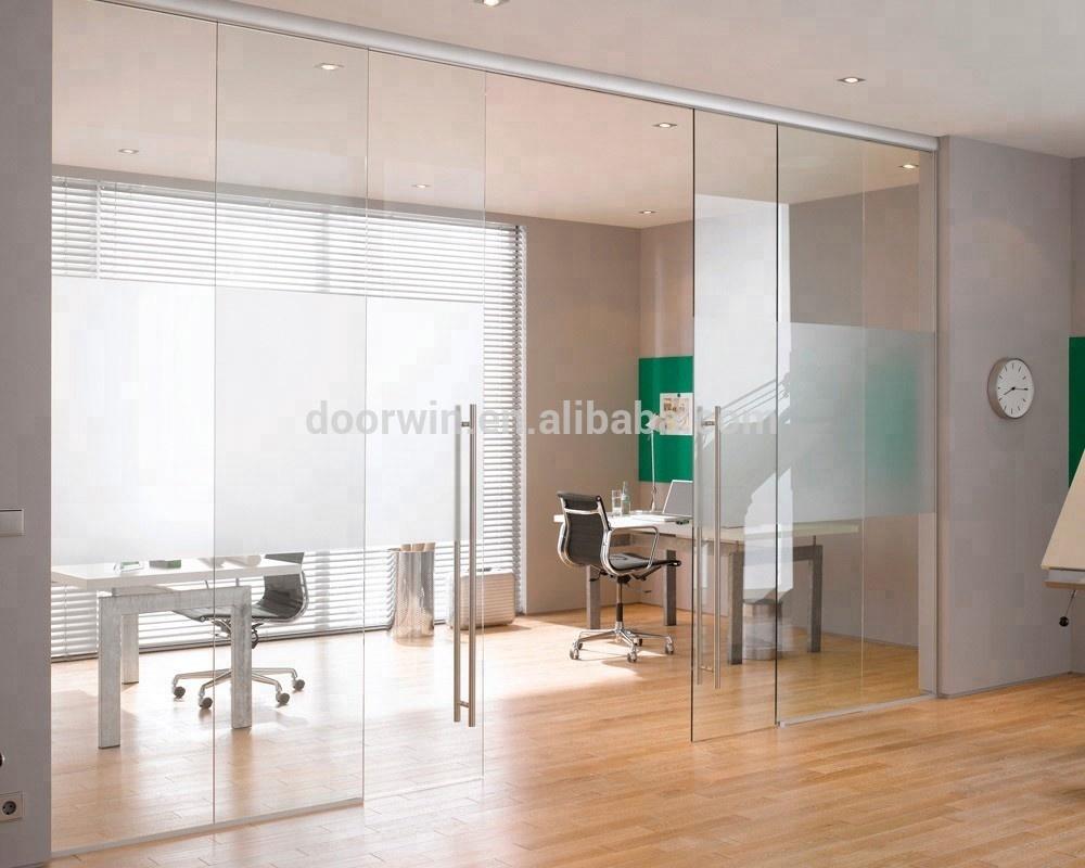 Hot Design Frameless Gl Sliding Door System Doors Product On Alibaba