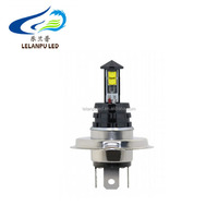 H4 20W CREES 4smd Car LED 12v Headlight Fog Driving Daytime Running 6500 White Light Led Bulbs Super Bright