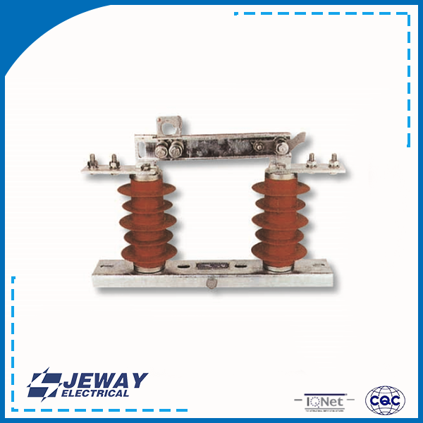 Porcelain high voltage 15kv GW9 isolated switch series insulator