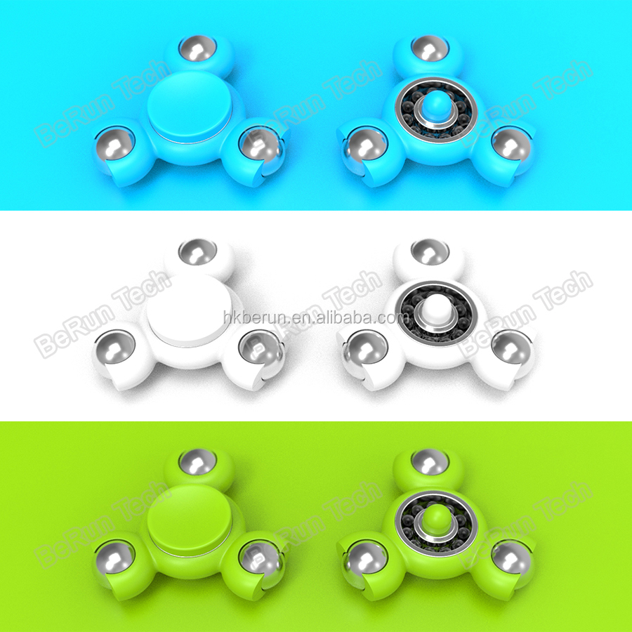 Mini pencil topper ceramic bearing spinner with low price fidget spinner