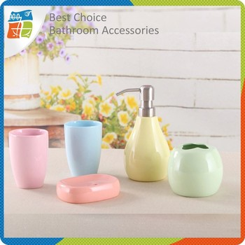 wholesale fashional cheap bathroom accessories sets