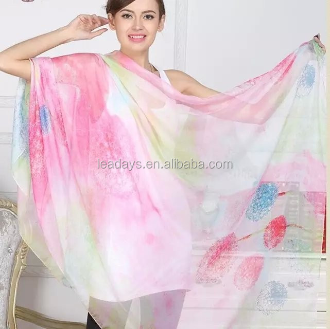 Spring and summer best selling high quality scarf manufacture