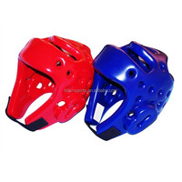 wholesale kickboxing helmet/PU boxing helmet sports safety