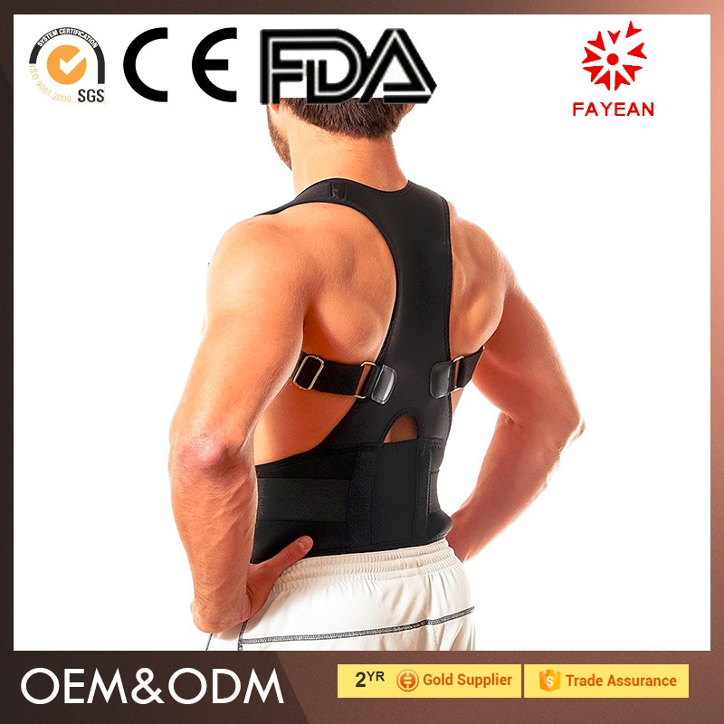 Wholesale sport support eco-friendly royal posture back support navy/camouflage lumbar brace