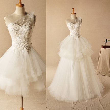 Finden Sie Hohe Qualität Hochzeitskleid Abnehmbarer Rock Hersteller ...