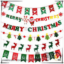 Festival Christmas Ornament Decorations Line Hanging Flag GYHB-152